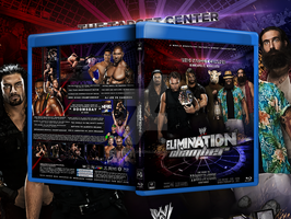 Elimination chamber 2014 blu-ray cover . by Mohamed-Fahmy