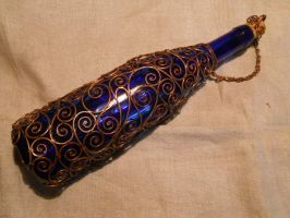 A copper-encased bottle by ChanceZero