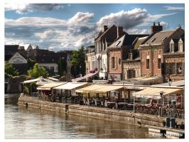 Amiens - The French Venice by Danferno