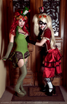 Harley + Poison - Hey, aren't you that plant lady? by shamblesofhearts