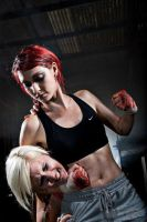 Fight Club - Headlock by nitr0gene