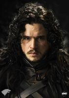 Jon Snow by Paganflow
