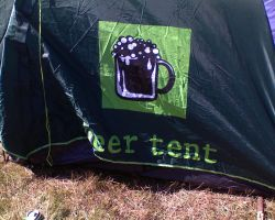 Beer Tent :P by Woolfred