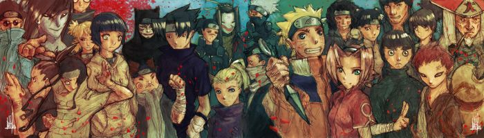 NARUTO Panoramic by fallout161