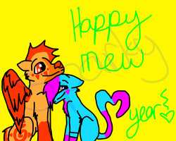 Happy New Year by scatteredSparks