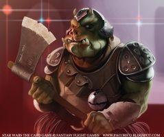 Gamorrean mercenary by Mancomb-Seepwood