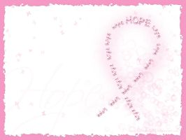 Cancer Tribute: Pink Hope by SillehKnilleh8D