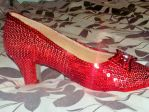 Right Side of A Pair of Ruby Slipper by TheWizardofOzzy