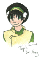 Toph Bei Fong color by aquabluejay
