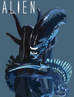 Alien Xenomorph by MrJellyfish
