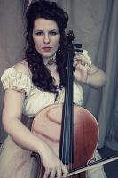 Charlotte - Cello 3 by Chamarjin