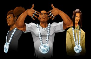 Thugnificent and crew by KidNotorious