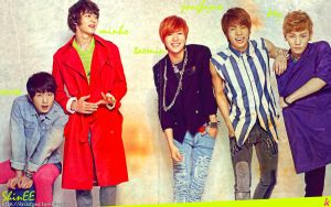SHinEE - Color Free by Sweetkrystyna