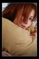 Behind the Cushion by Maeja