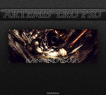 Disturbed Smudge LRO PSD by Artemis-Graphics