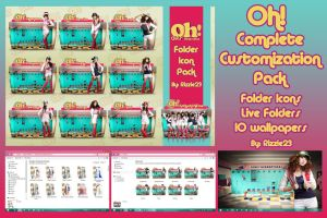 SNSD Oh Complete Customization Pack by Rizzie23