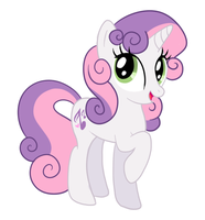 Older! Sweetie Belle by DisfiguredStick
