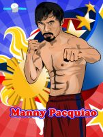 Manny Pacquiao Vector by brainwavedesigns