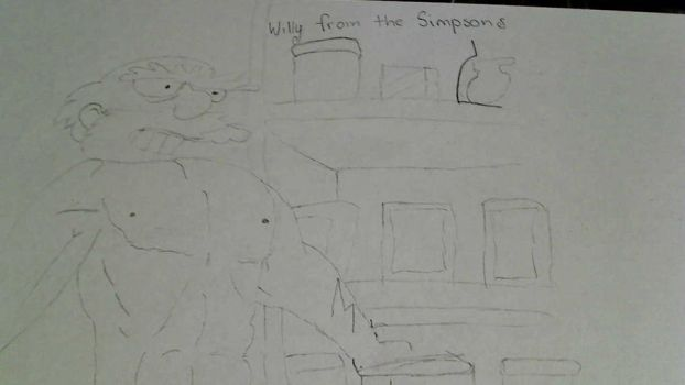 Willy from the Simpsons xD by goldchick1234