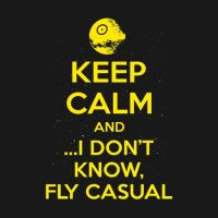 Keep Calm and Fly Casual by superleezard