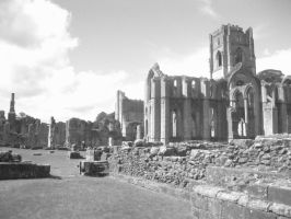 Fountains Abbey by LuciaDuvant