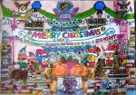 MERRY CHRISTMAS SUPER SMASH ALL-STAR HEROES by KambalPinoy