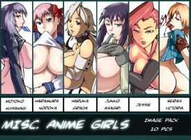Misc Anime Girls Zip file by ksc2303