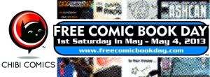 FREE COMIC BOOK DAY 2013 BANNER by ChibiCelina