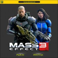 Mass Effect 3 Take Earth Back - ICON by IvanCEs