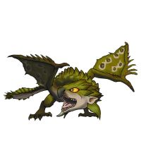 MH3U serie - Chibi Rathian by 9be