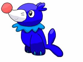Pokemon Sun and Moon: Popplio by K-Egg
