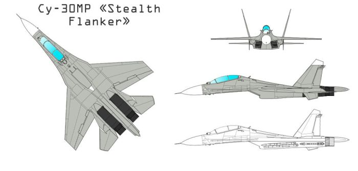 Su-30MR Stealth Flanker by ACZCipher
