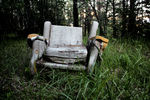 Abandoned chair by TheManWithTheHat666