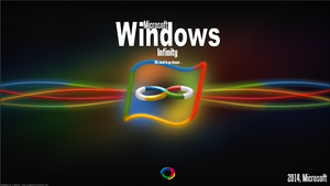 Windows Infinity Desktop Background by ImAvalible1
