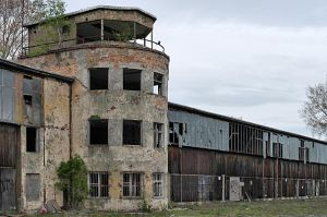 - Old Tower and Hangars - by UniversalFocus