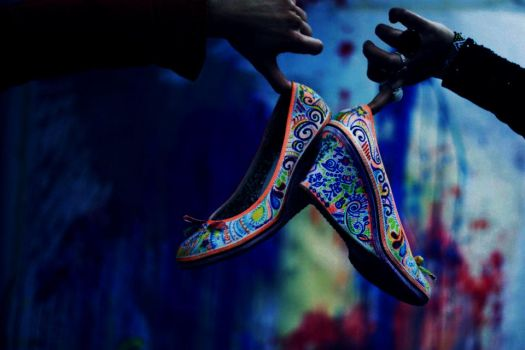 shoes by timeless-treasures