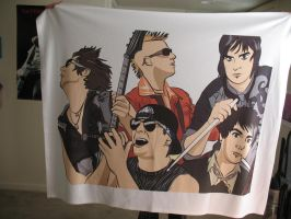 Avenged Sevenfold Blanket, entire group by TheSpyWhoLuvedMe