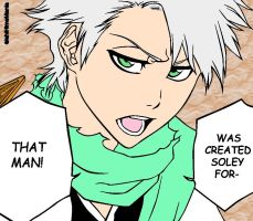 Hitsugaya Colored Line Art by BlazeEdge