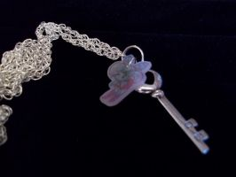 Sailor Chibi Moon Key Necklace by Anime-Bling
