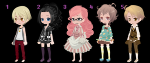 2nd Adopts- CLOSED!!!!! by Windydopts