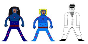Superhero Characters 22 by Gery850