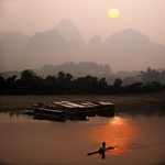 Li Jiang at dawn by foureyes