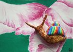 ACEO Snail by OliviasArtwork