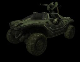 Halo 3 Warthog by JefRchrds