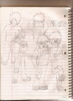 Mexico-Sum OC sketches owo by That-Wacky-Whovian