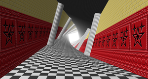 Twisted Corridor To The Surreal World. by kevin42135