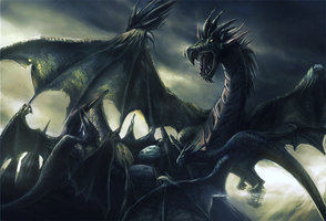 Dragon Clash by Sagim