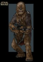 chewbacca  -  commission by nightwing1975