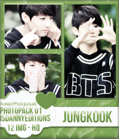 Jungkook (BTS) - PHOTOPACK#01 by JeffvinyTwilight