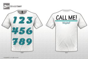 Call Me Maybe Shirt by SchuyDreamer